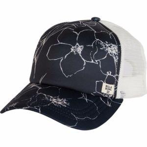 Billabong Blue Hibiscus Trucker Hat